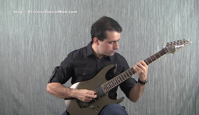 guitar technique tension control